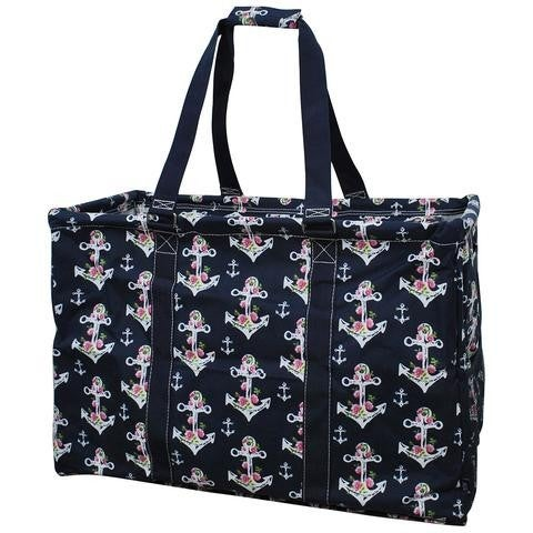 Mega Shopping Utility Tote Bag Double Haul It All