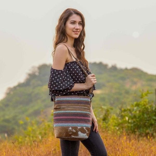 Myra Bags Tiered Shoulder Bag