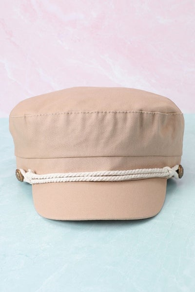Cotton Greek Fisherman's Sailor Fiddler Hat Cap