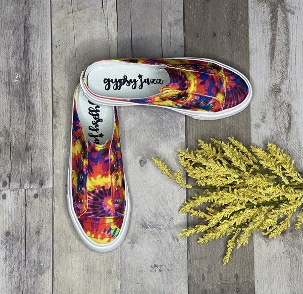 Gypsy Jazz Very G Hippie Tie Dye Slip On Sneakers