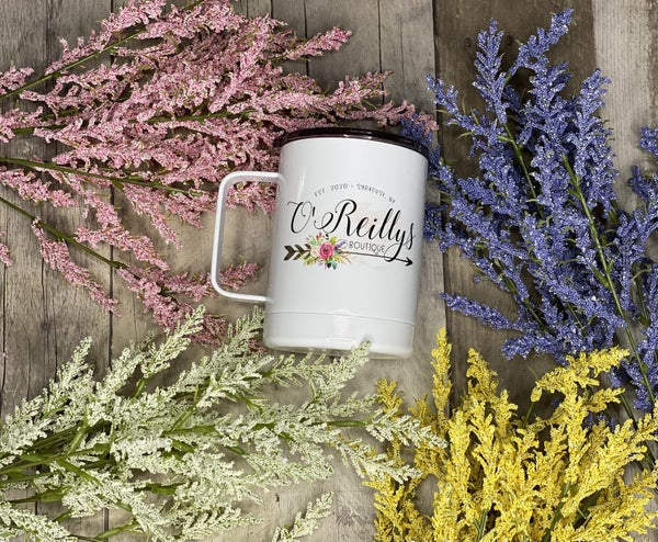 O'Reillys  Boutique Travel Mugs