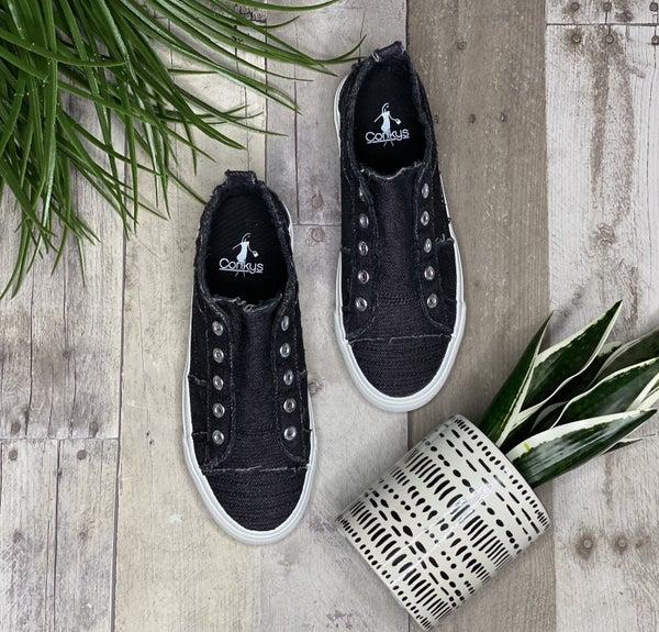 Corky's Black Babalu Sneaker