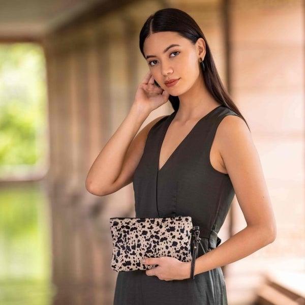 Myra Bag Mirage Hairon Pouch