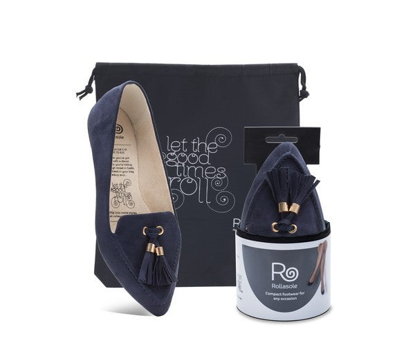 Rollasole Midnight Blue  Loafers