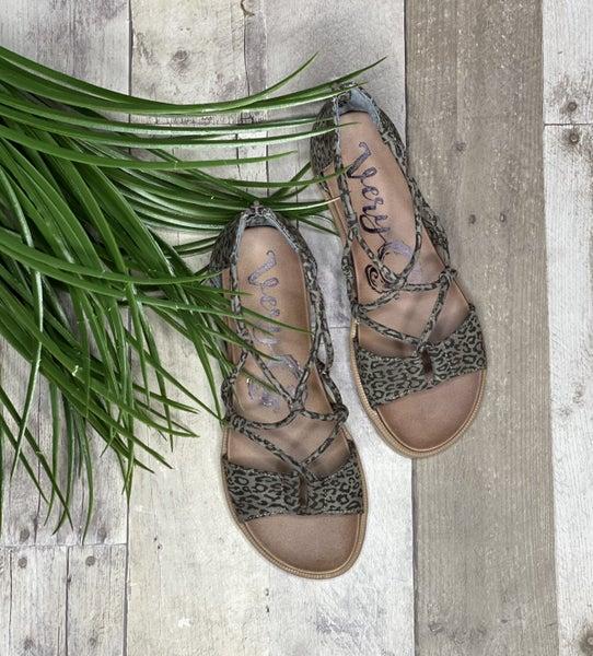 Gypsy Jazz Leopard Steppin Into Summer Sandal