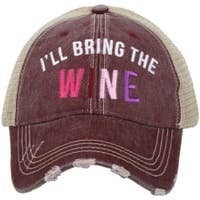 I'll Bring The Wine Baseball Cap