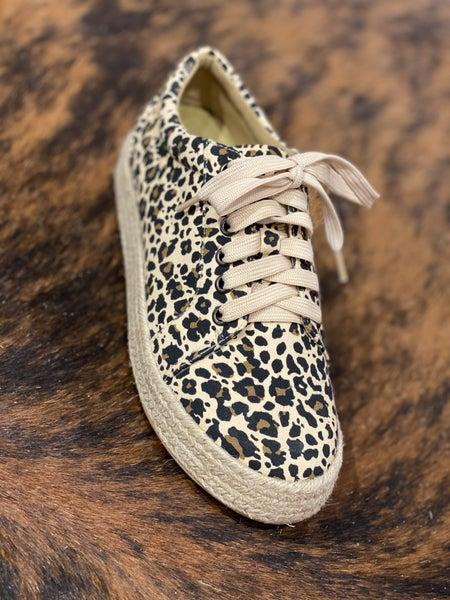 Corky's Tart Leopard Sneaker
