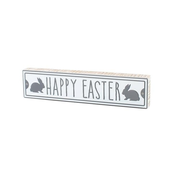 Home Décor  Happy Easter Block Sign