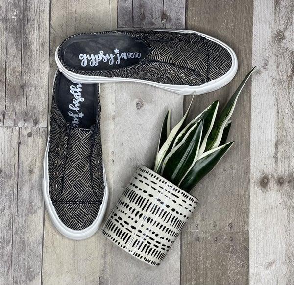 Gypsy Jazz Very G Black & White Slip On Sneaker