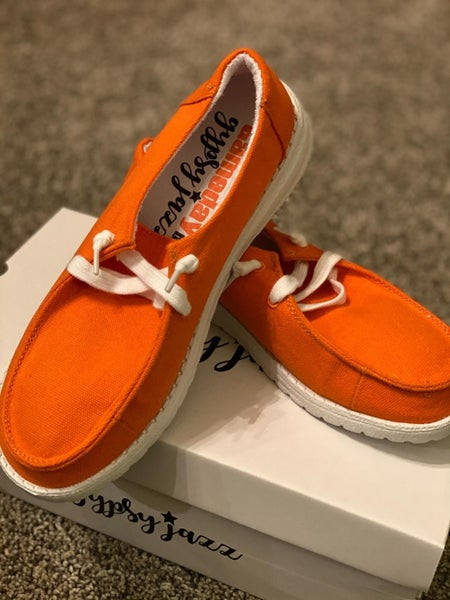 Gypsy Jazz Very G Game Day Sneakers**Orange**