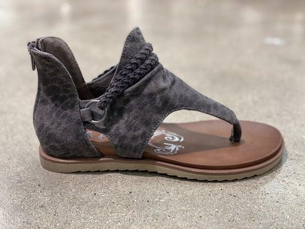 Gypsy Jazz Very G Sariah Charcoal Sandal