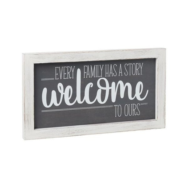 Home Décor Welcome Story Frame