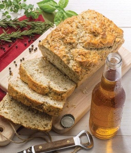 Beer Bread Mixes** Cinnamon Crumble, Garlic Parm & Caramel Apple