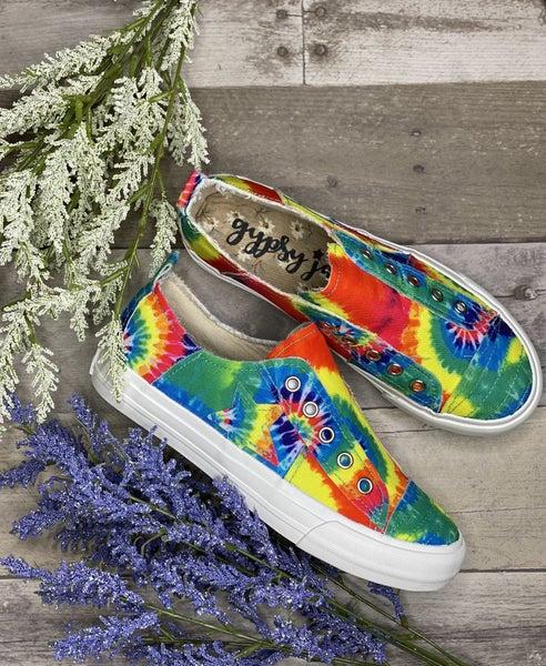 Gypsy Jazz Very G Tie Dye Slip On Sneaker