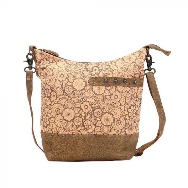 Myra Bags Apricot Shoulder Bag