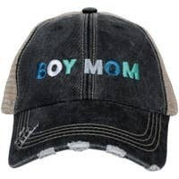 Boy Mom Multicolored Trucker Baseball Cap