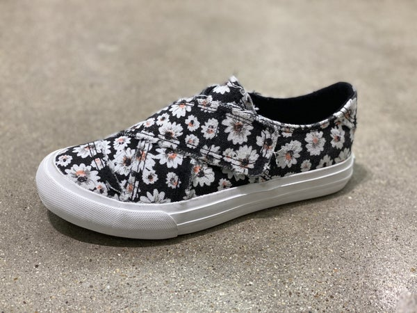 Gypsy Jazz Very G Ivory Floral Canvas Shoe