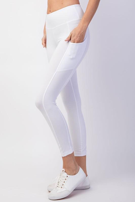 Capri Yoga Pant Legging with Pocket