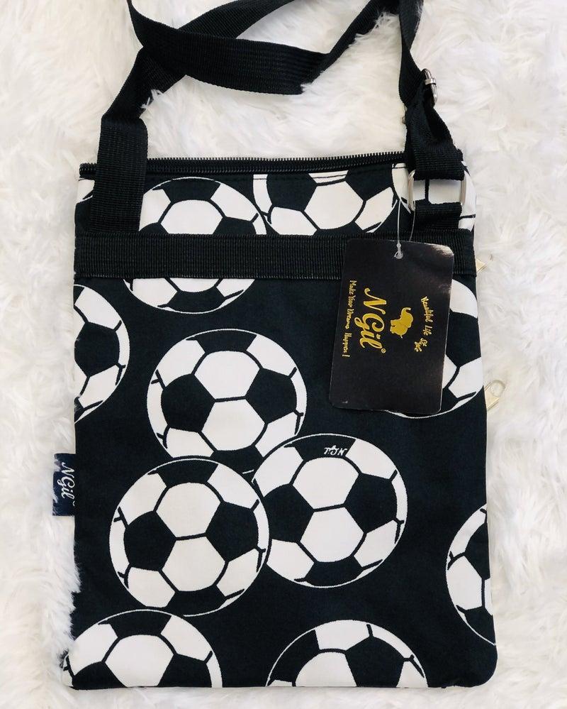 Soccer Print Crossbody