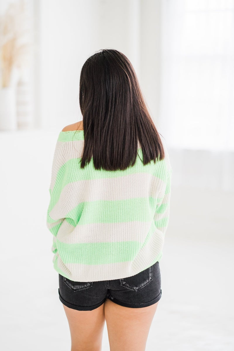 Rita Stripe Sweater