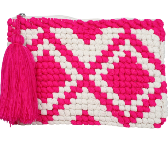 Woven Pocketbook Clutch
