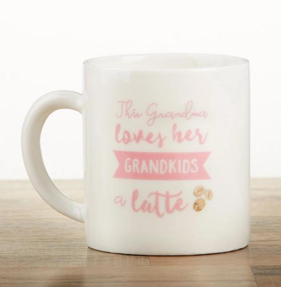 Grandkids Latte Mug