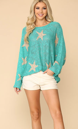 Ashley Star Pullover