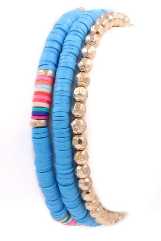 Tribal Stone Stretch Bracelet