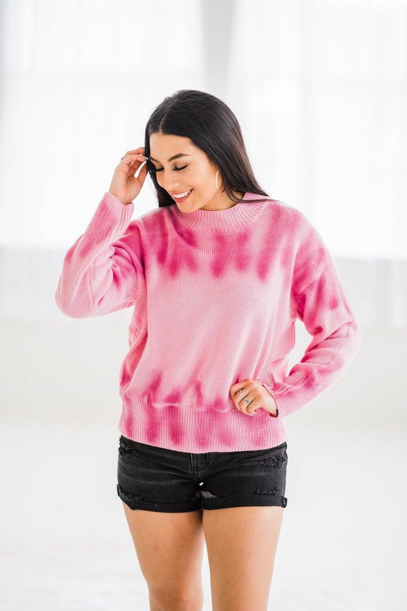Pink Blends Pullover
