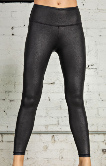 Pebble Grain Faux Leather Leggings