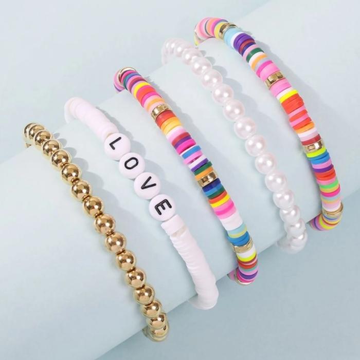 Love Stack Bracelet Set
