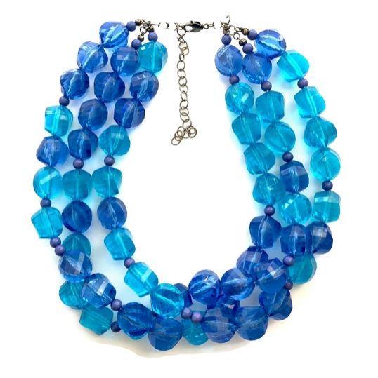 Multi Strand Morgan Necklace