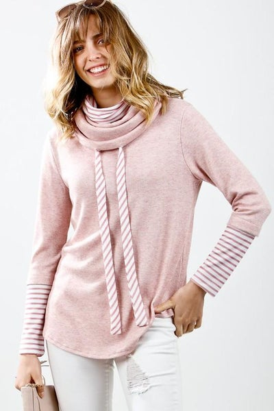 Perfeclty Fabuslous Mock Neck Top