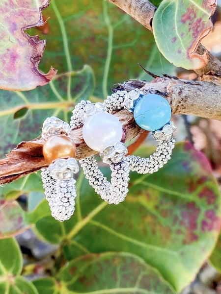 Stretch Pearl Rings