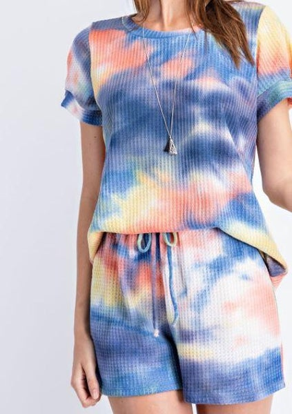 Tie Dye Lounging set