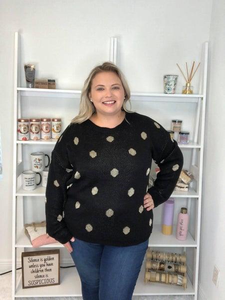 Glam Dottie Sweater
