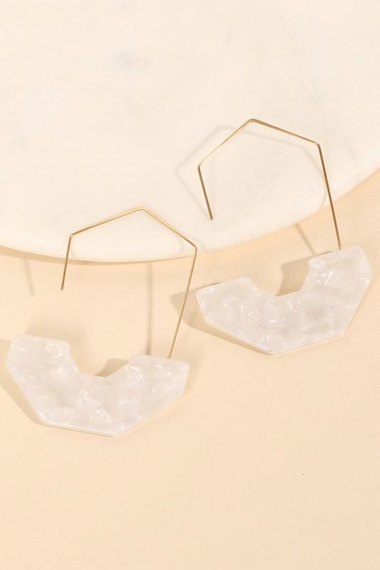 Own The Night Hoop Earrings