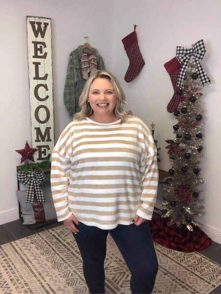Candied Toffee Pullover Sweater