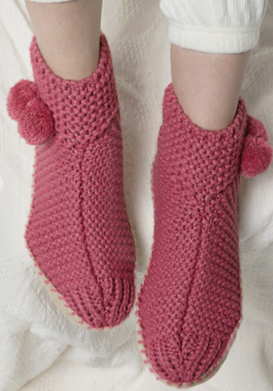 Pink Party Slipper Bootie