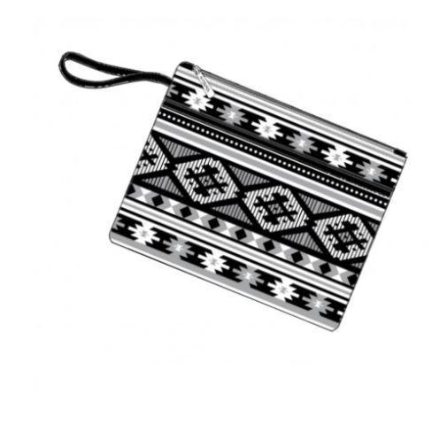 Monochromatic Aztec Clutch