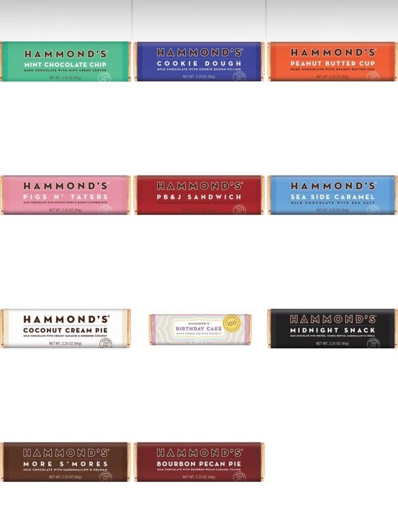 Hammonds Chocolate Bars