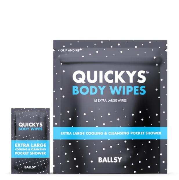 Quickys Body Wipes