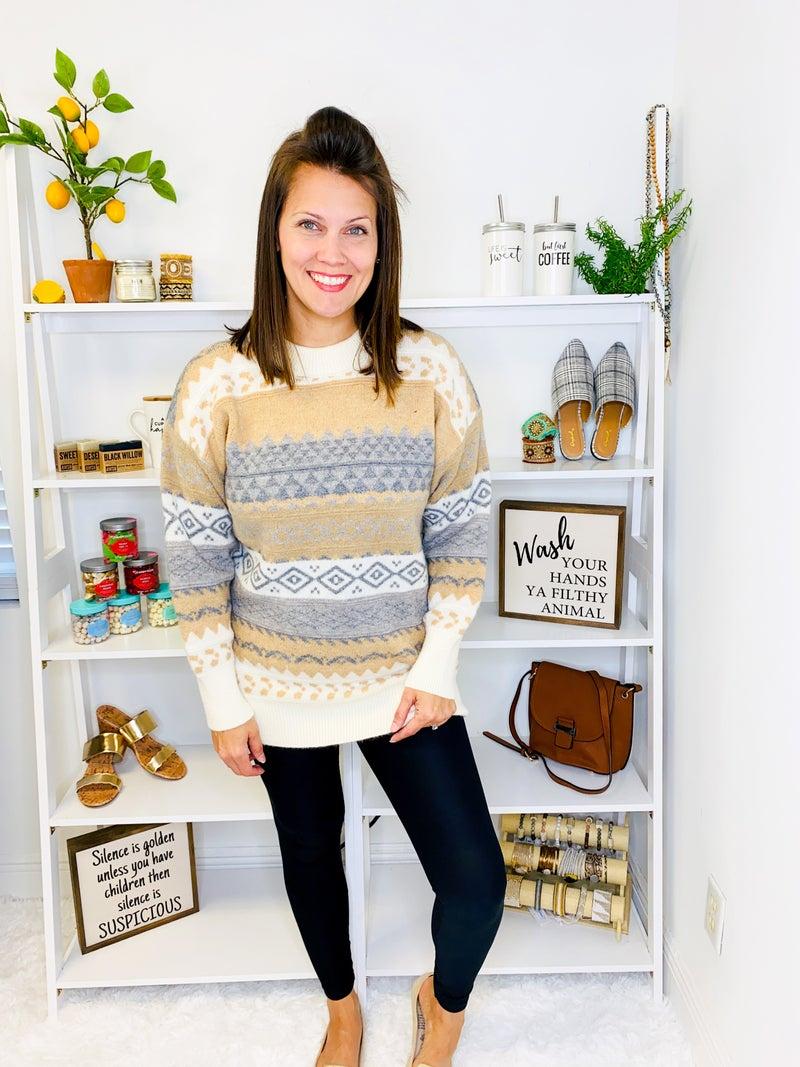 The Britt Sweater