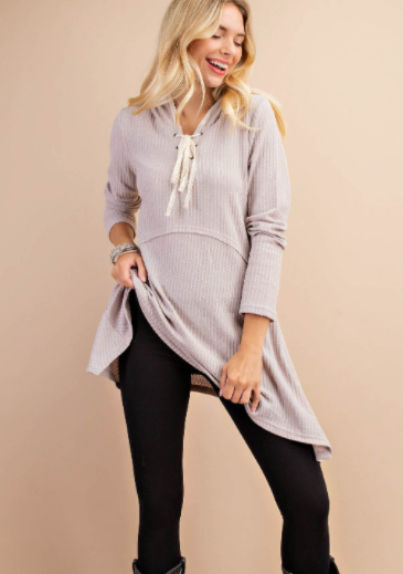 Hooded Holly Tunic