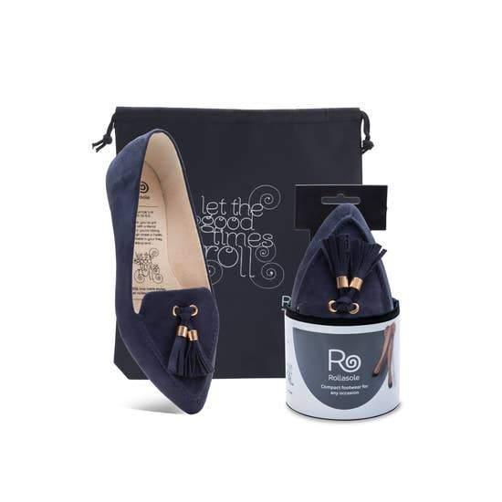 Tassel Loafer - Midnight Blue
