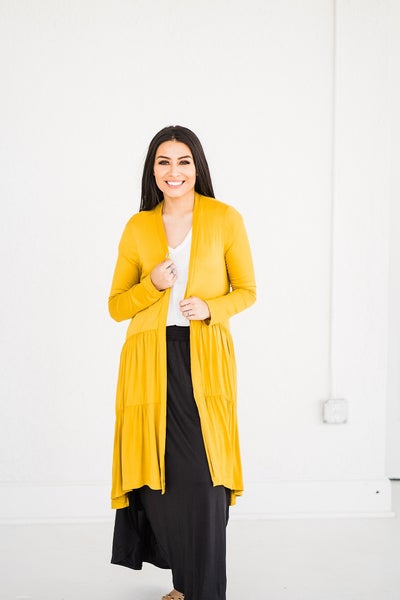 All Tiered Up Cardigan