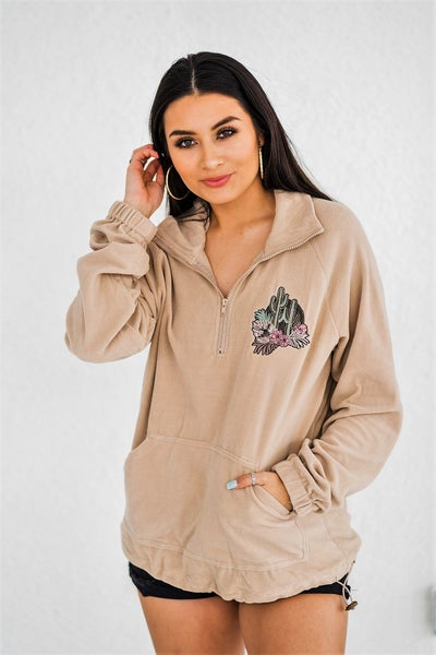 Succulent Pullover Jacket