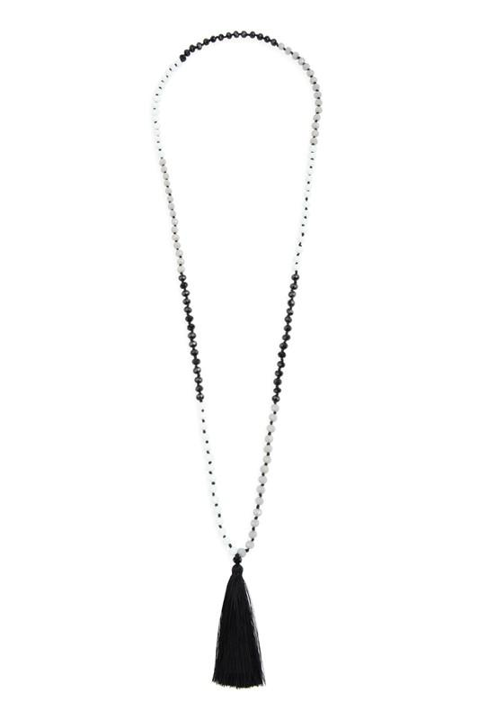Fringe Tassel Pendant Necklace