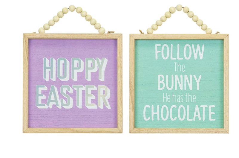 Hoppy Easter Decor