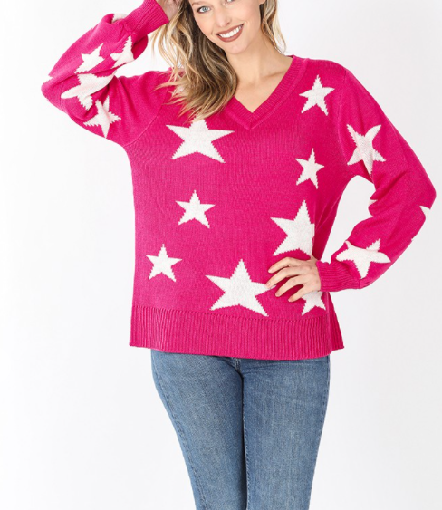 Starring Pink Sweater